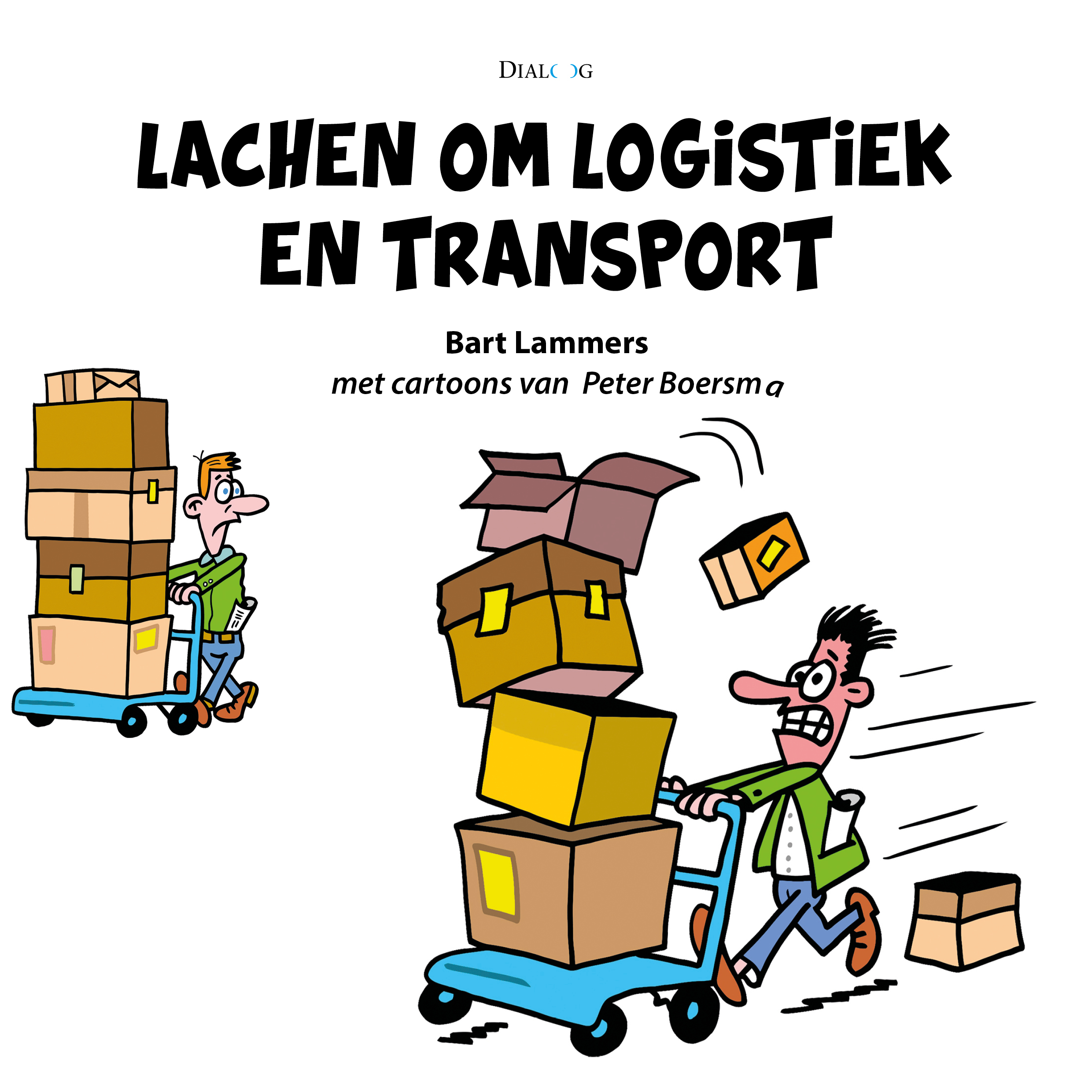 Lachen om logistiek en transport